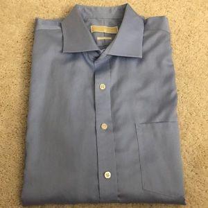 Michael kors light blue shirt